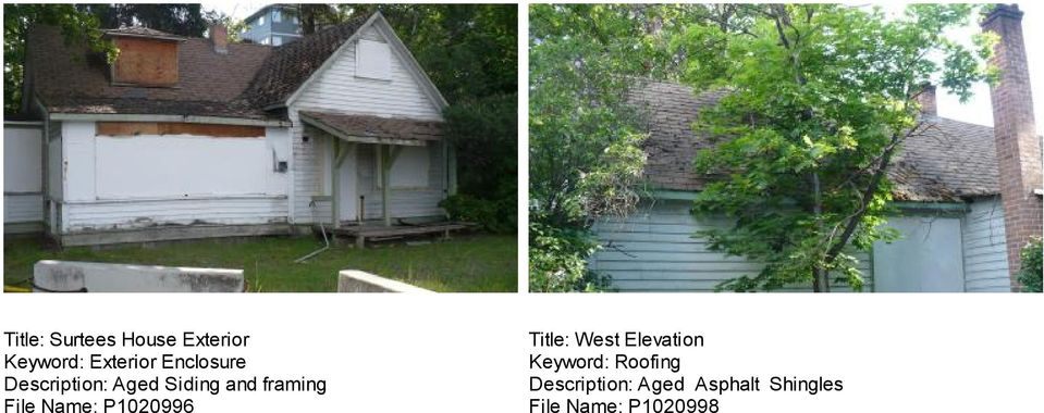Title: West Elevation Keyword: Roofing