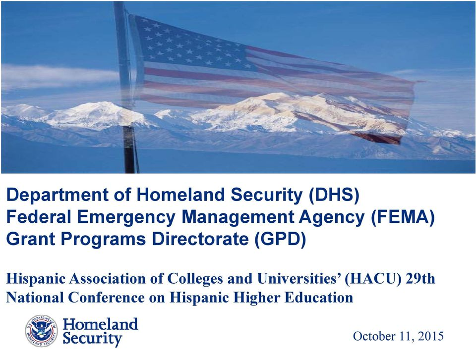 Hispanic Association of Colleges and Universities (HACU)