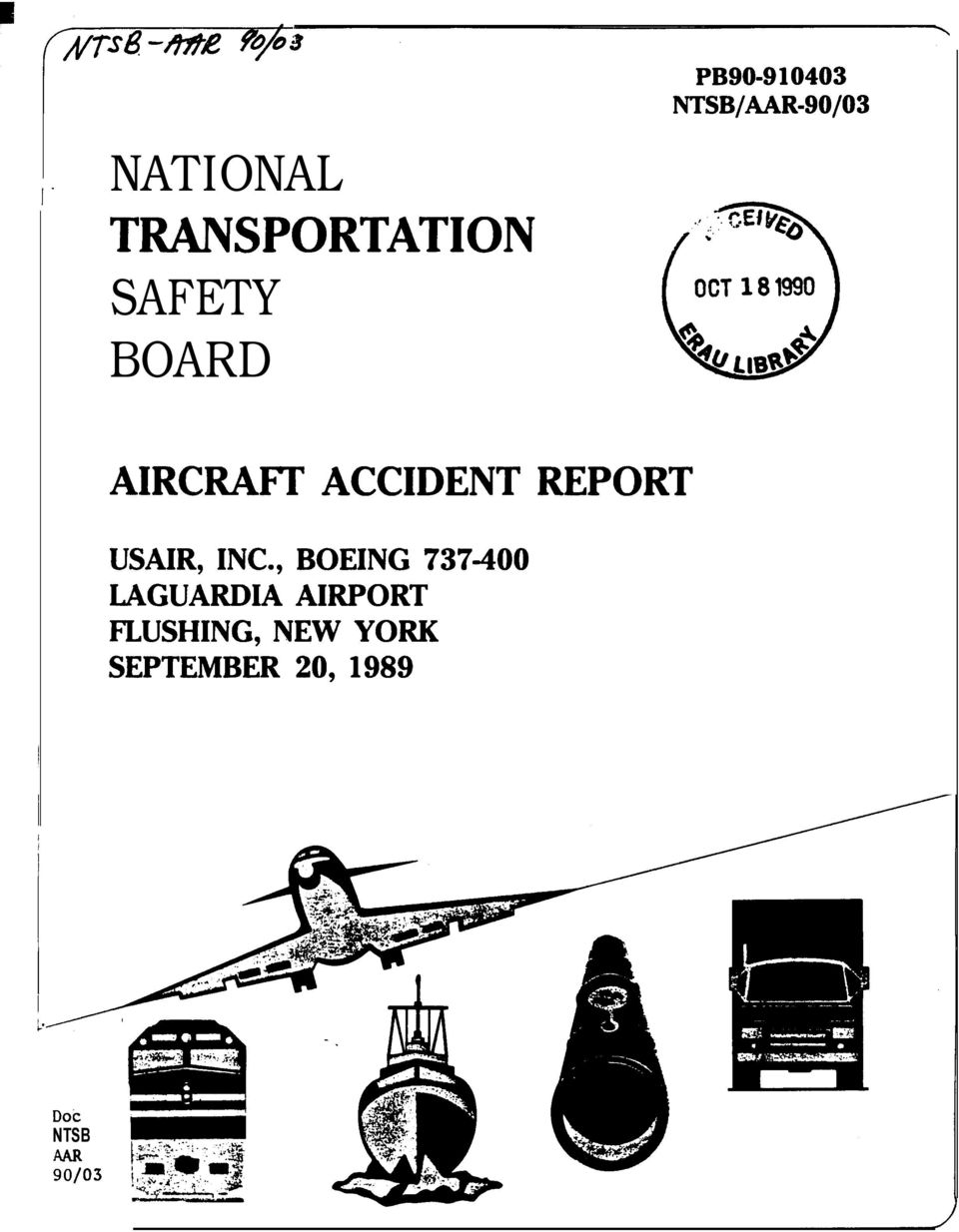 REPORT USAIR, INC.
