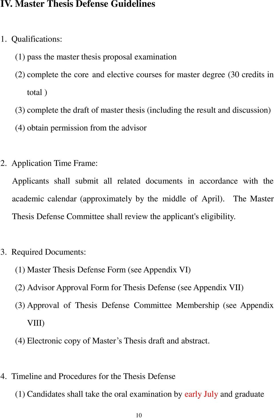 the result and discussion) (4) obtain permission from the advisor 2.