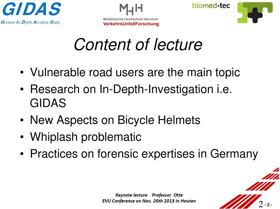earch on In-Depth-Investigation i.e. GIDAS New
