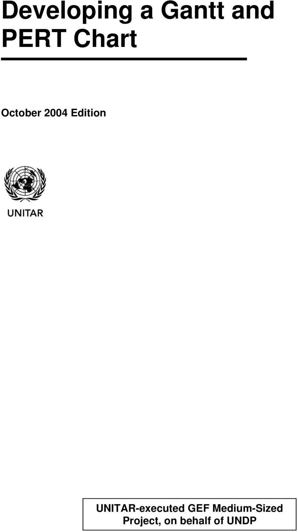 UNITAR-executed GEF