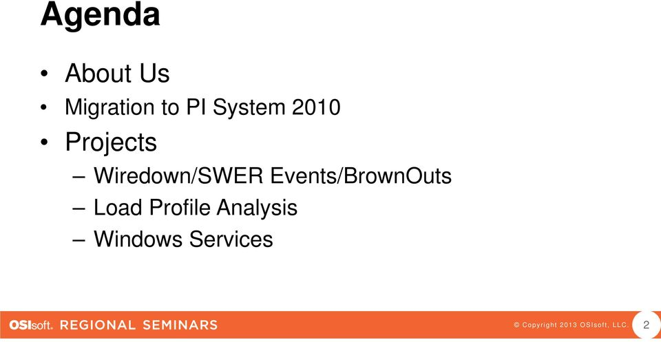 Wiredown/SWER Events/BrownOuts