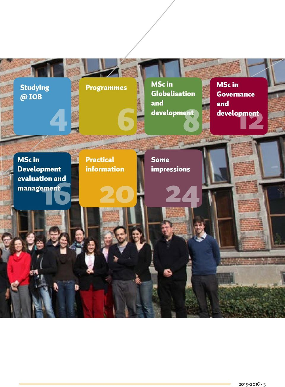 MSc in Development evaluation and management