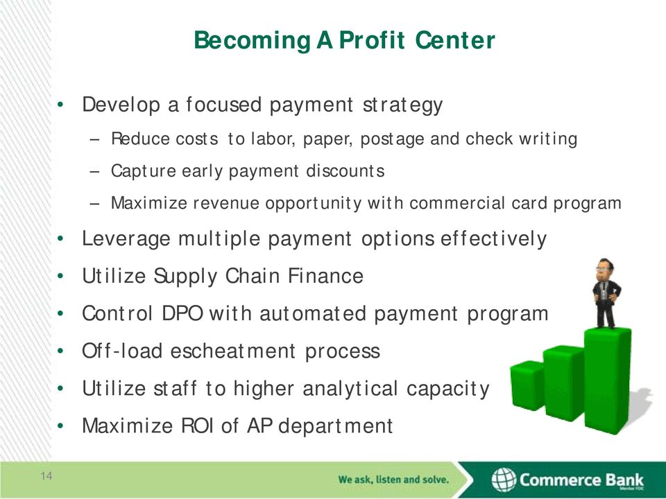 multiple payment options effectively Utilize Supply Chain Finance Control DPO with automated payment