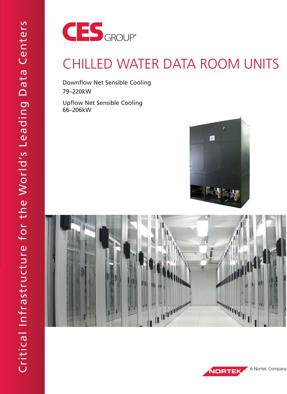 UNITS Downflow Net Sensible Cooling 79 220kW