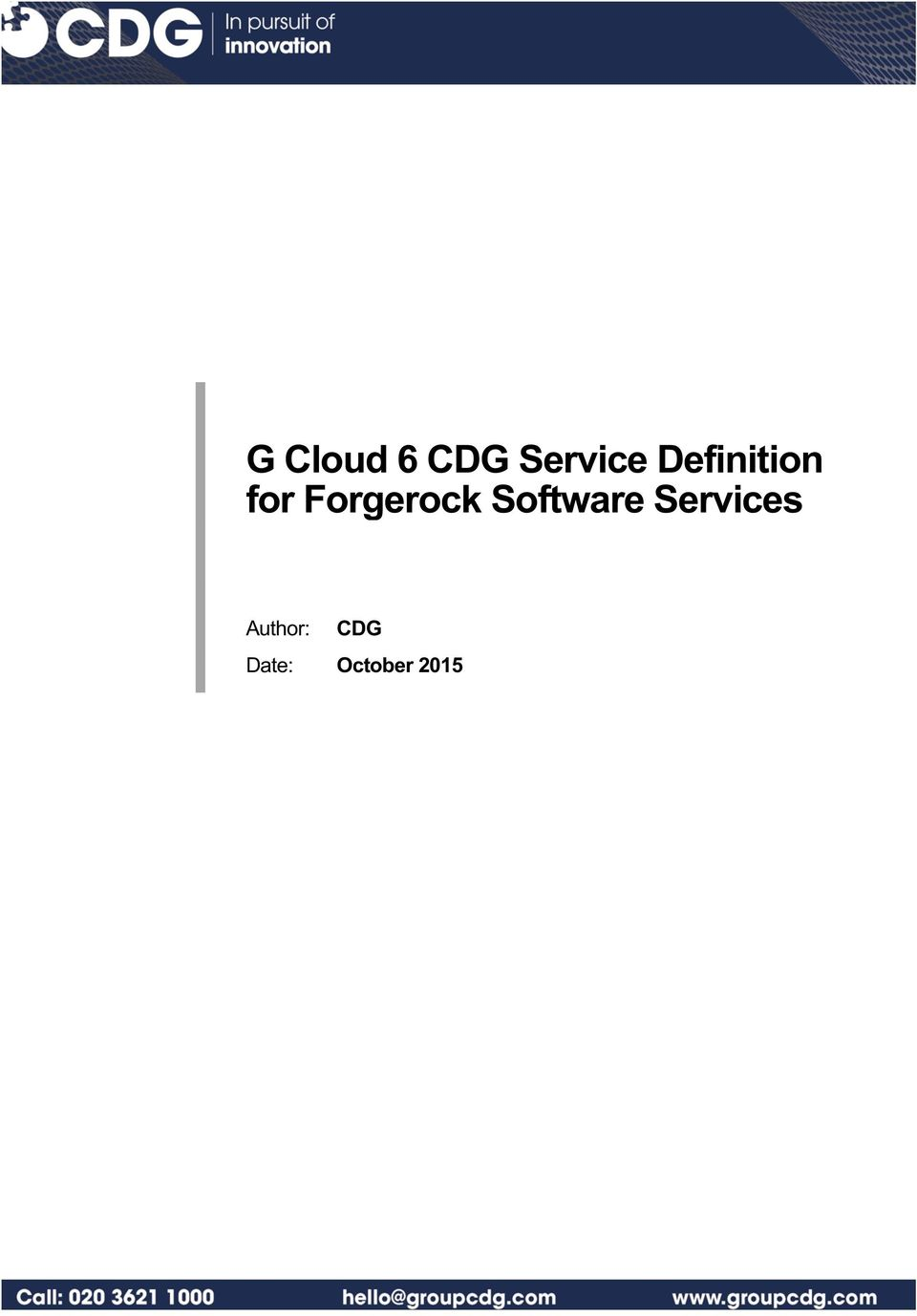Forgerock Software