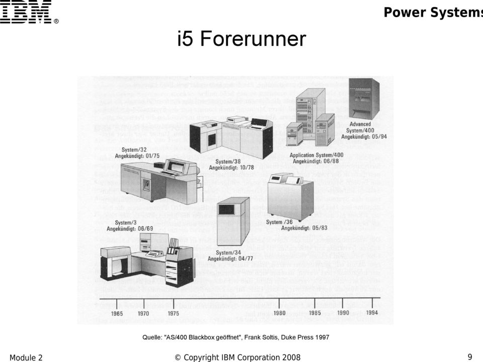 "Forerunner Quelle: ""AS/400"