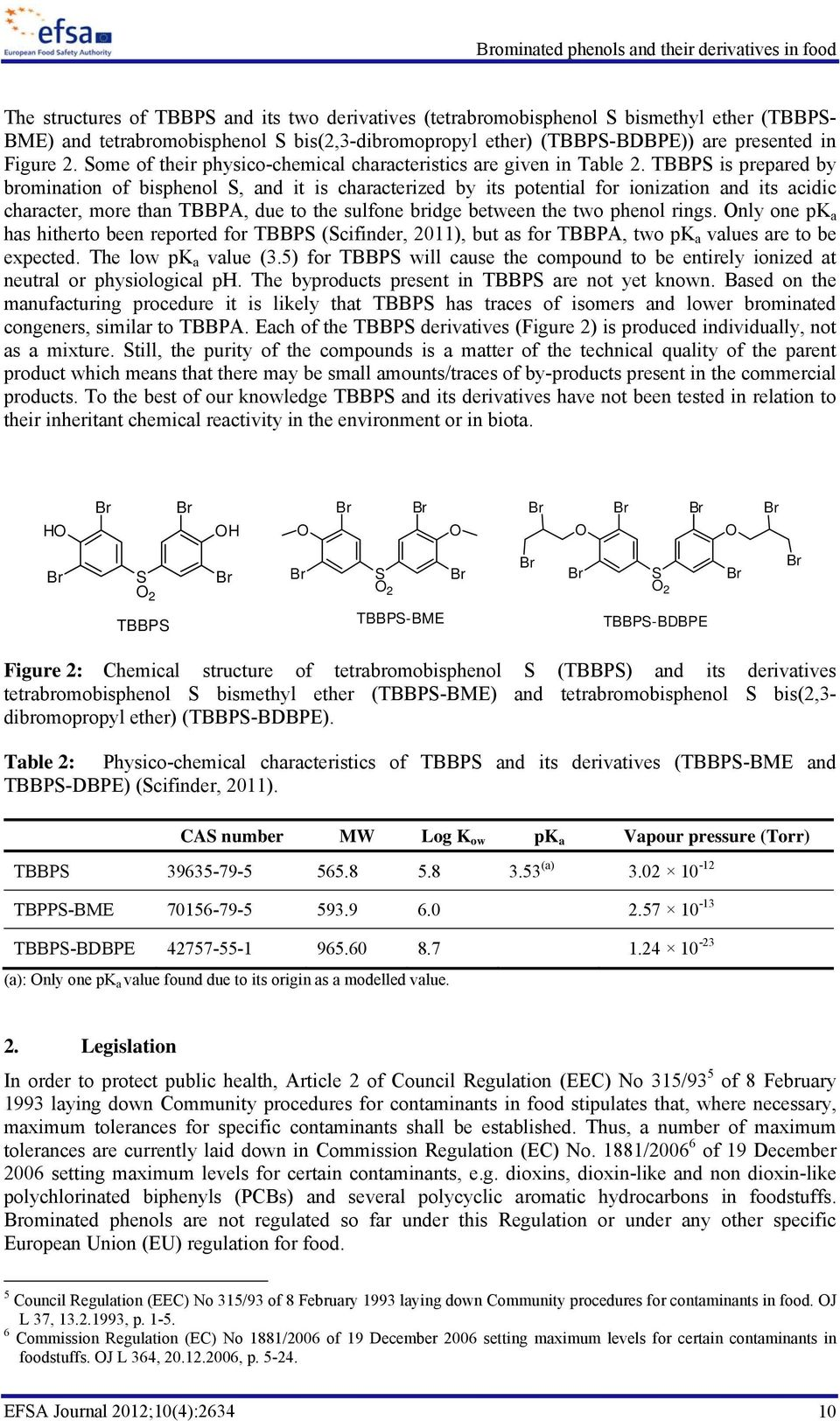 TBBPS is prepared by bromination of bisphenol S, and it is characterized by its potential for ionization and its acidic character, more than TBBPA, due to the sulfone bridge between the two phenol