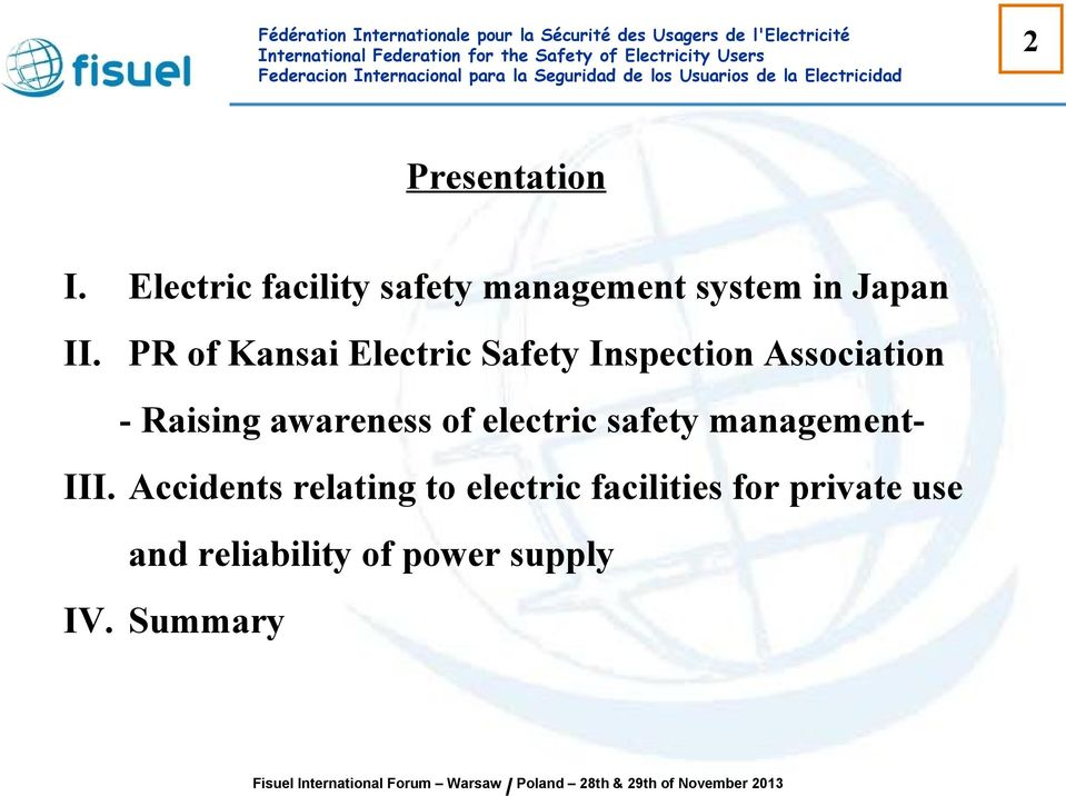 PR of Kansai Electric Safety Inspection Association - Raising