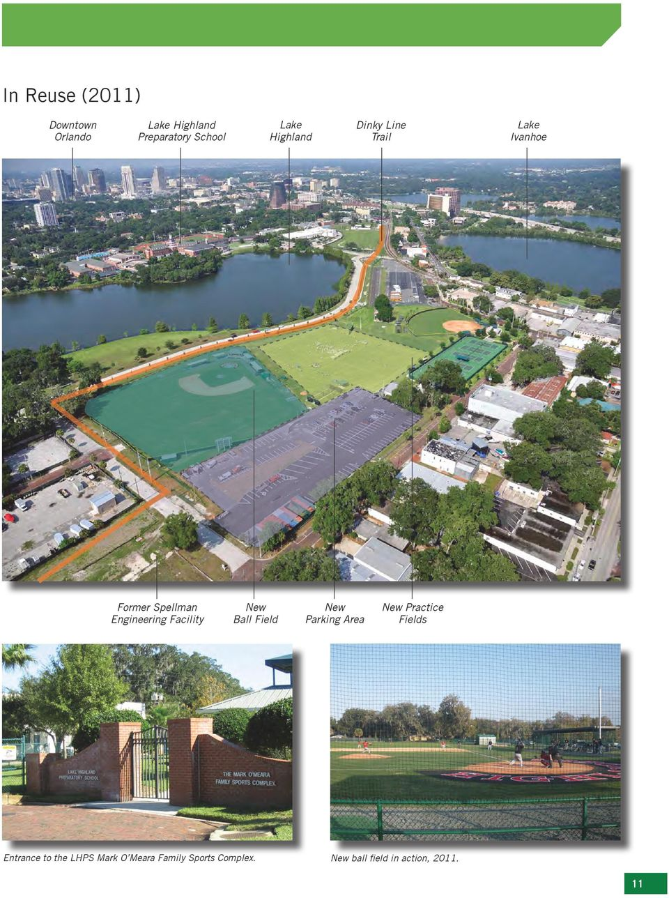 Facility New Ball Field New Parking Area New Practice Fields Entrance to