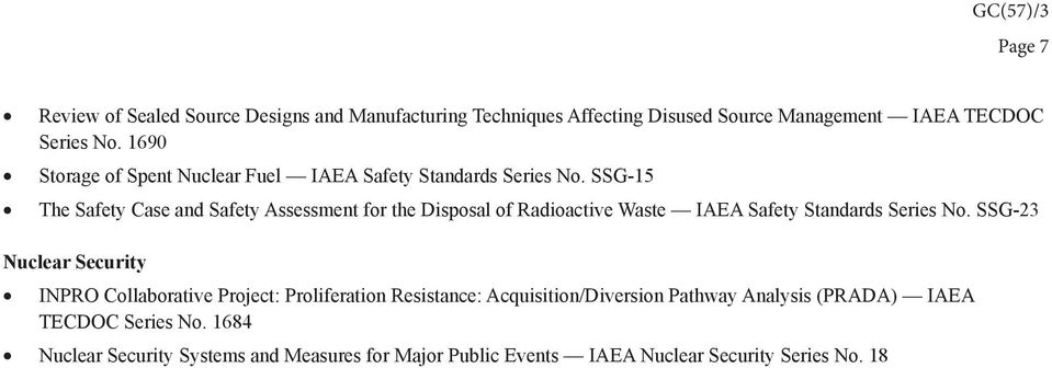 SSG-15 The Safety Case and Safety Assessment for the Disposal of Radioactive Waste IAEA Safety Standards Series No.