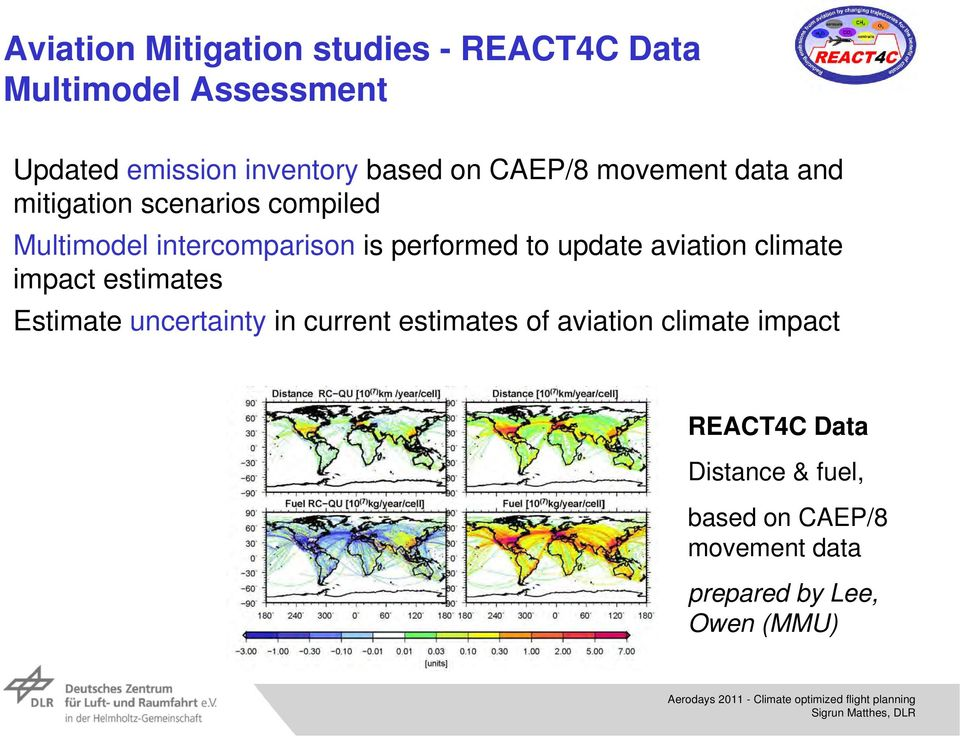 to update aviation climate impact estimates Estimate uncertainty in current estimates of aviation