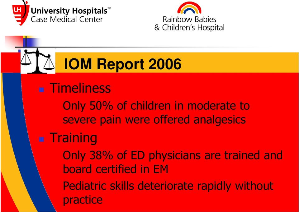 Only 38% of ED physicians are trained and board