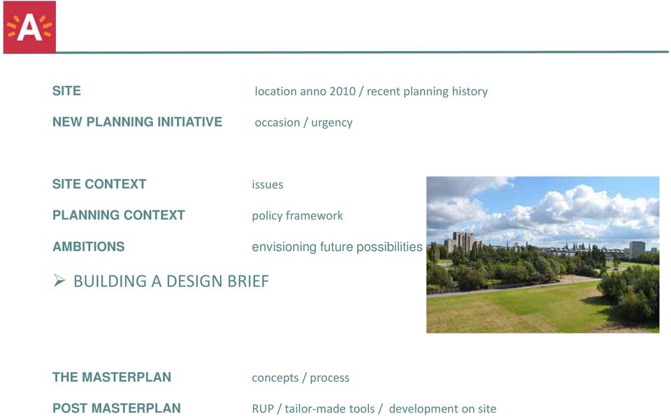 framework envisioning future possibilities BUILDING A DESIGN BRIEF THE