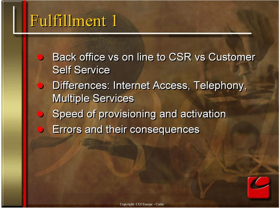 Access, Telephony, Multiple Services Speed of