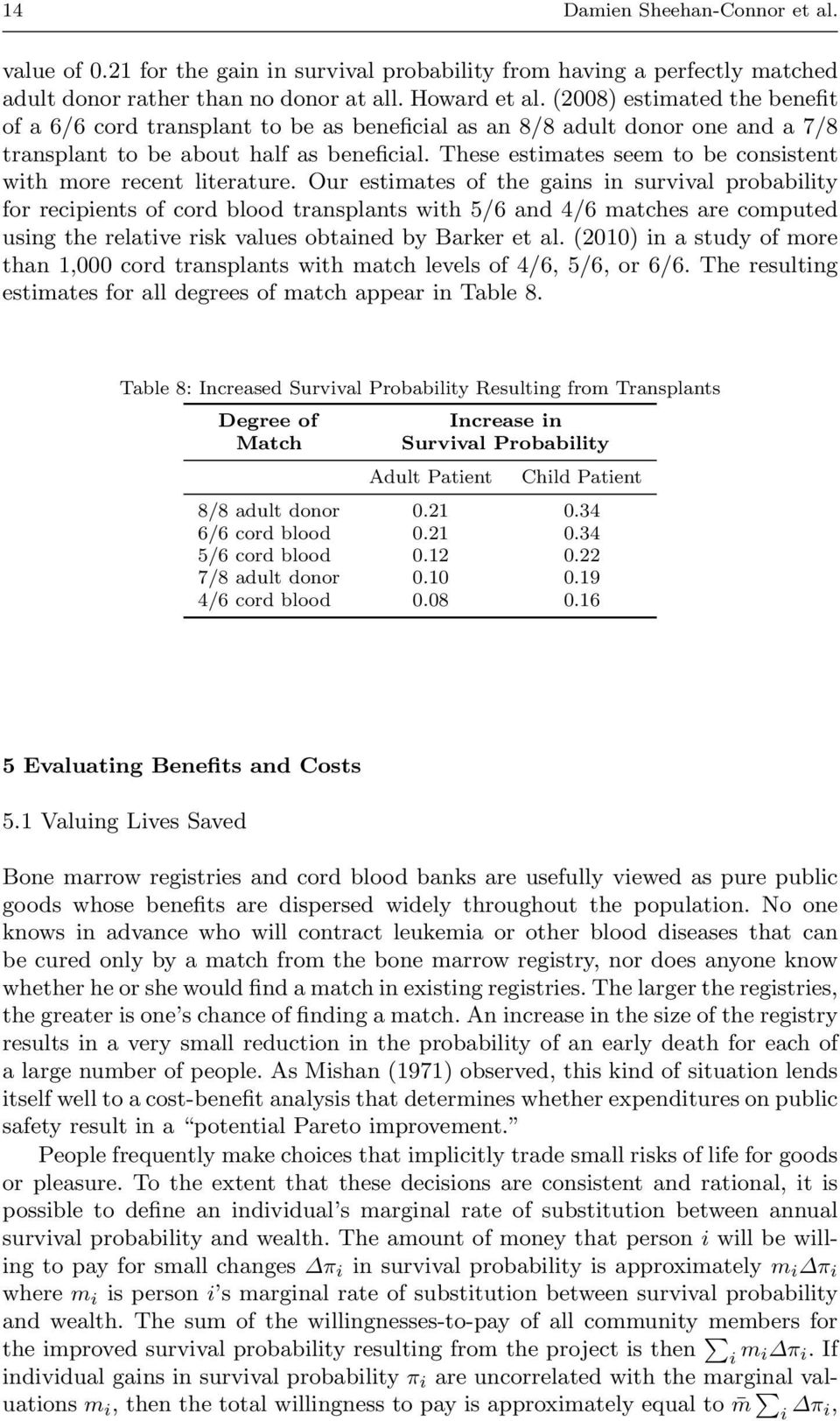These estimates seem to be consistent with more recent literature.