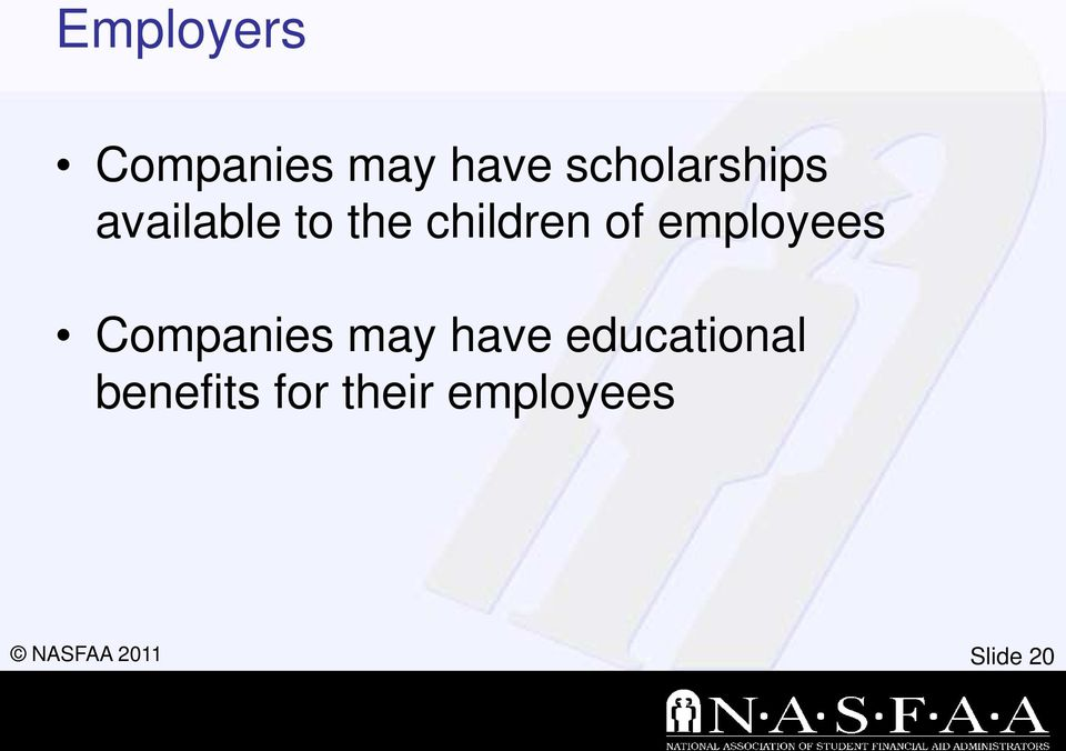 children of employees Companies may