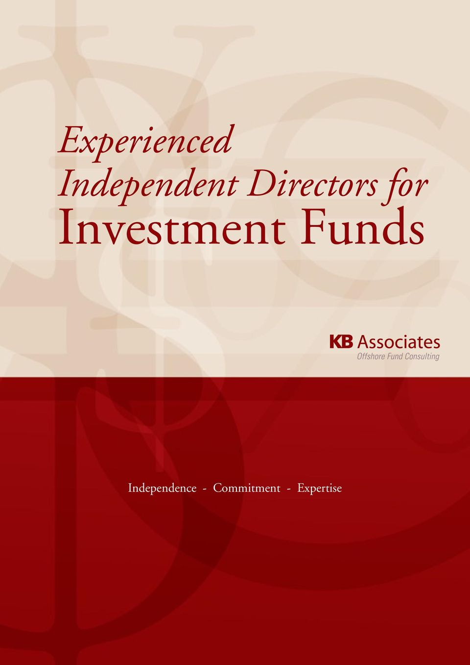 for Investment Funds