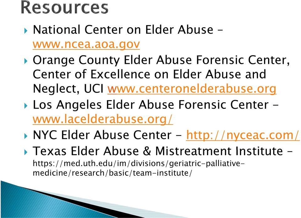 centeronelderabuse.org Los Angeles Elder Abuse Forensic Center - www.lacelderabuse.