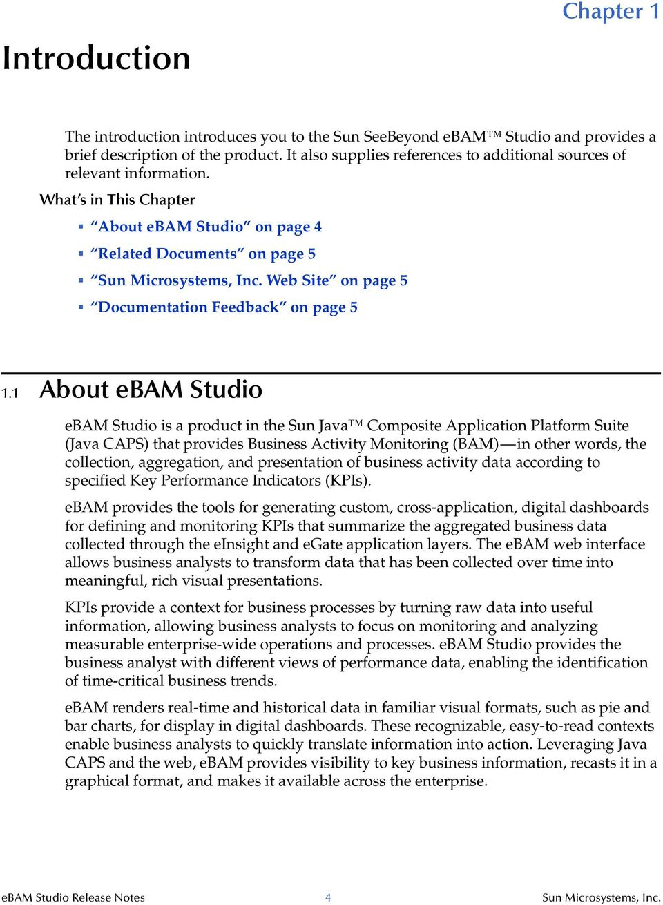 Web Site on page 5 Documentation Feedback on page 5 1.