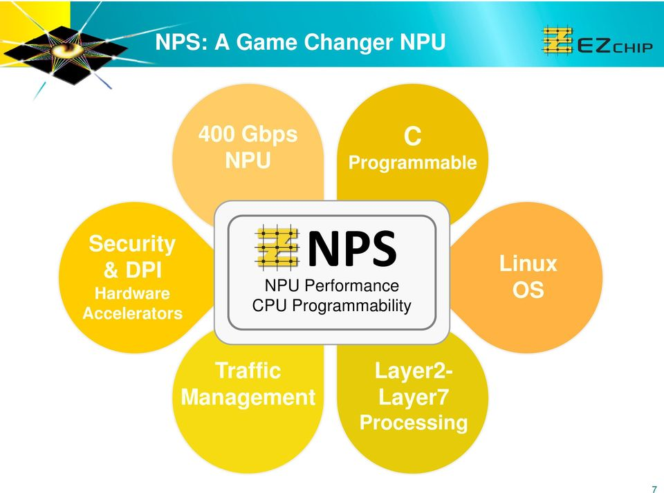 Accelerators NPS NPU Performance CPU