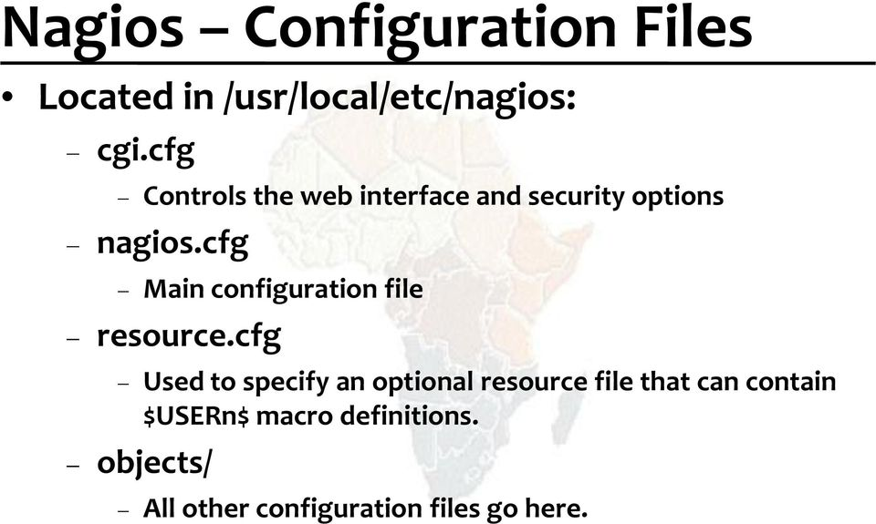 cfg Main configuration file resource.