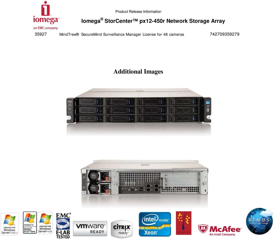 Iomega StorCenter px12-450r Network Storage Array - PDF