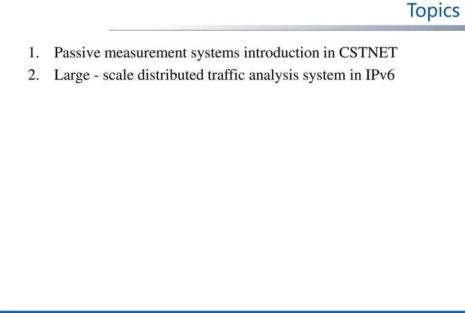 introduction in CSTNET 2.