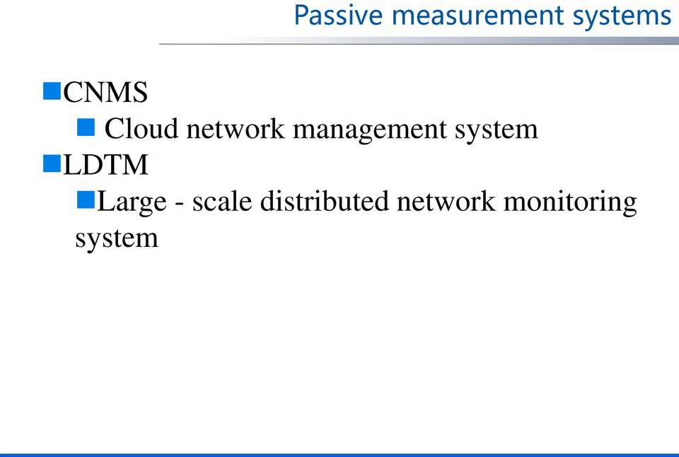 system LDTM Large - scale