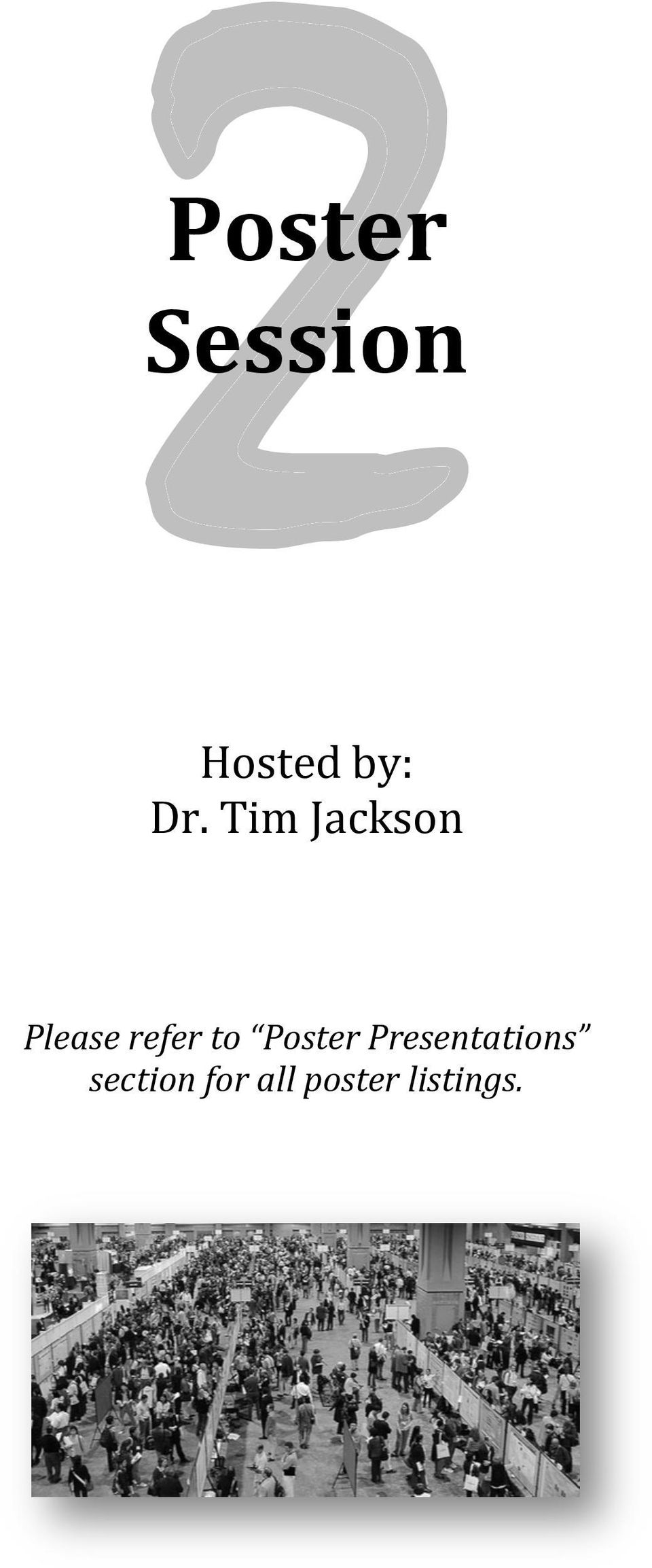 to Poster Presentations