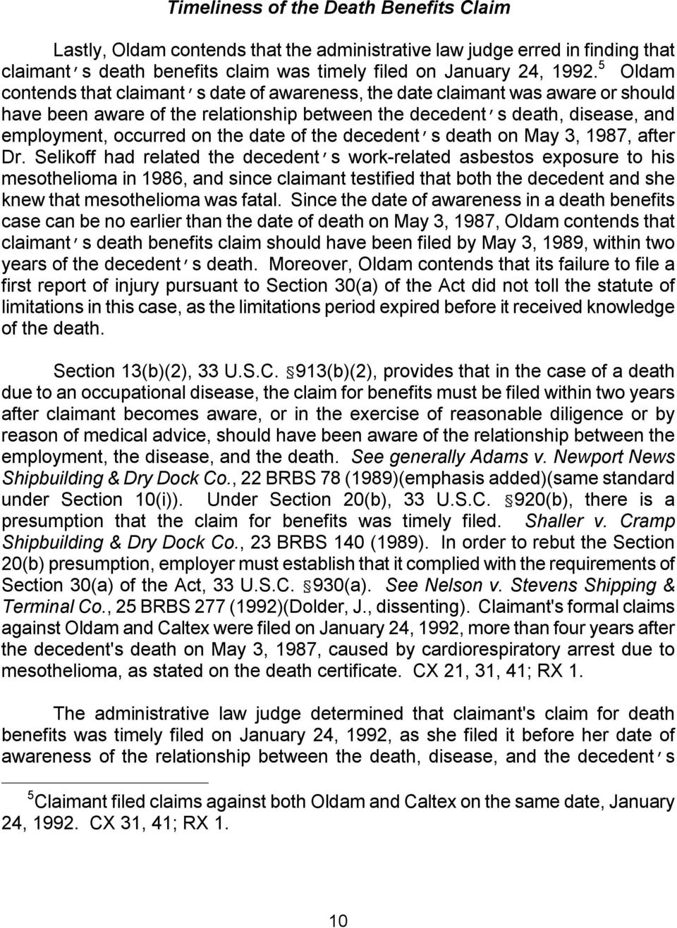 date of the decedent s death on May 3, 1987, after Dr.
