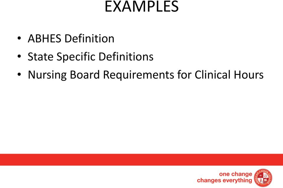 Definitions Nursing Board