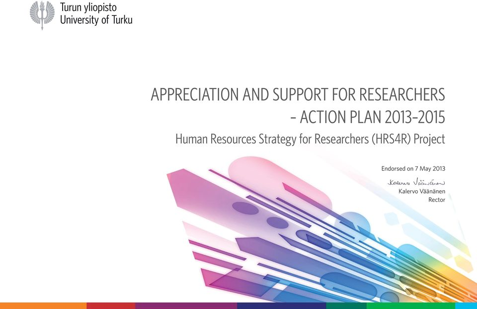 Strategy for Researchers (HRS4R) Project
