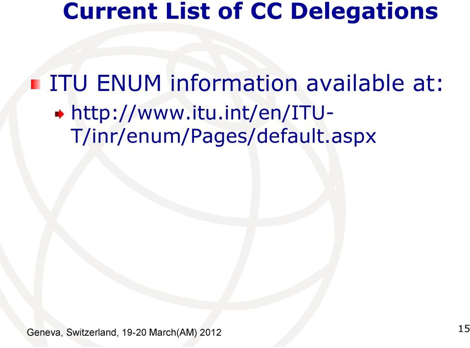 int/en/itu- T/inr/enum/Pages/default.