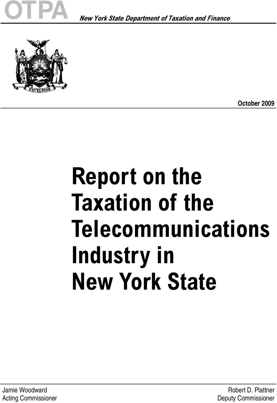 Telecommunications Industry in New York State Jamie