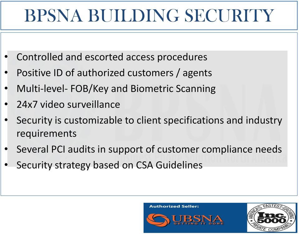 surveillance Security is customizable to client specifications and industry requirements