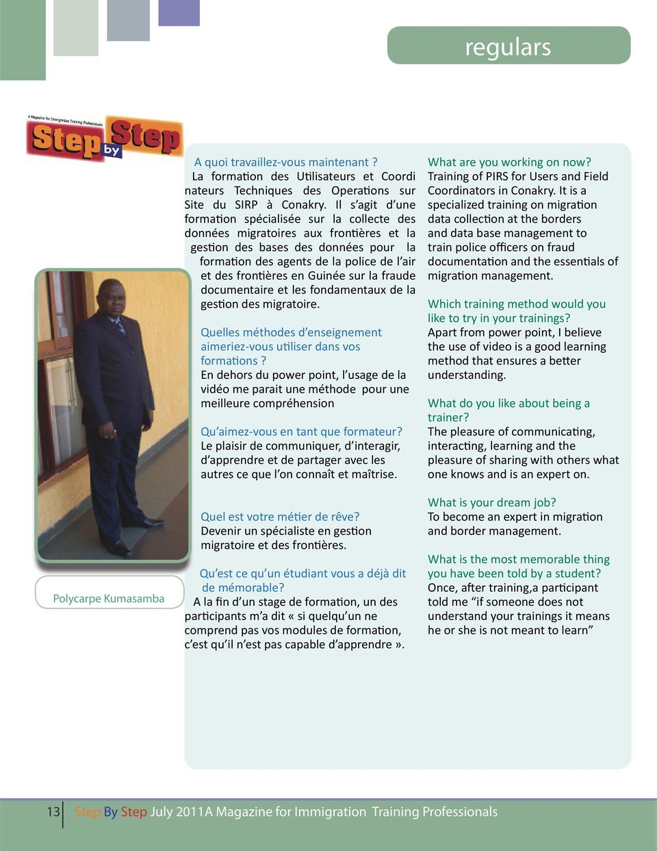 By Step July 2011A Magazine for