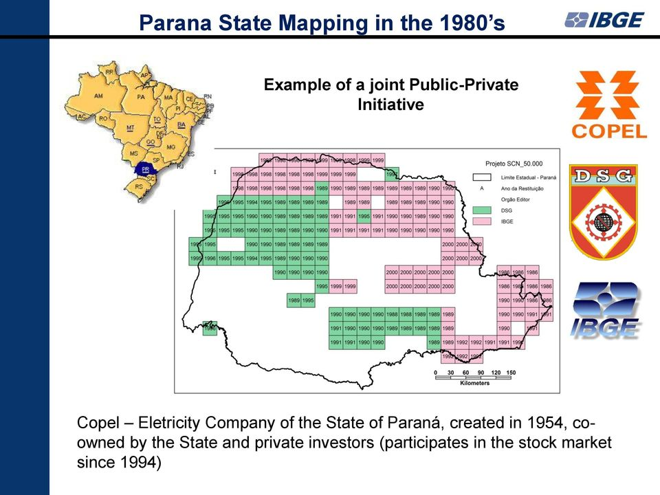State of Paraná, created in 1954, coowned by the State and