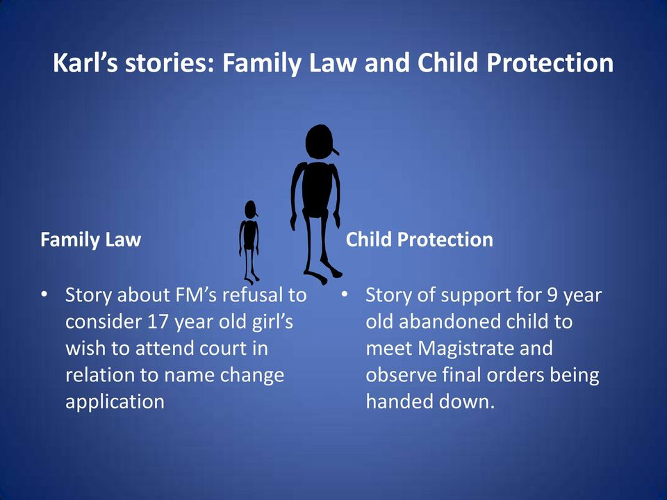 name change application Child Protection Story of support for 9 year old
