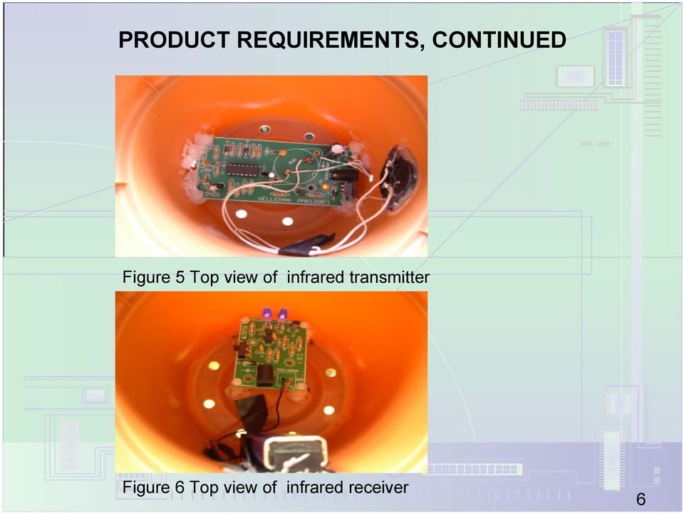 of infrared transmitter