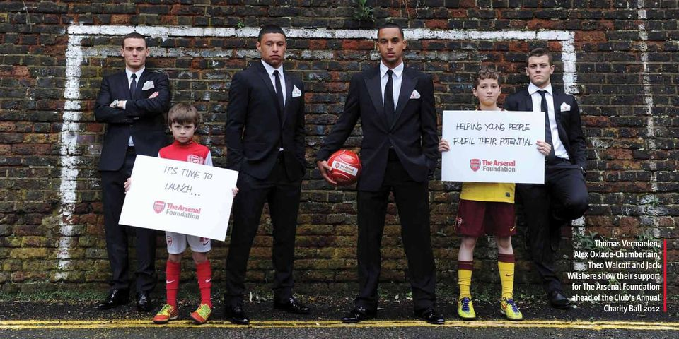 Jack Wilshere show their support for The