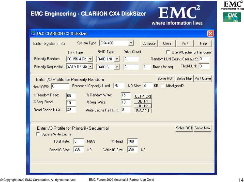 DiskSizer EMC Forum