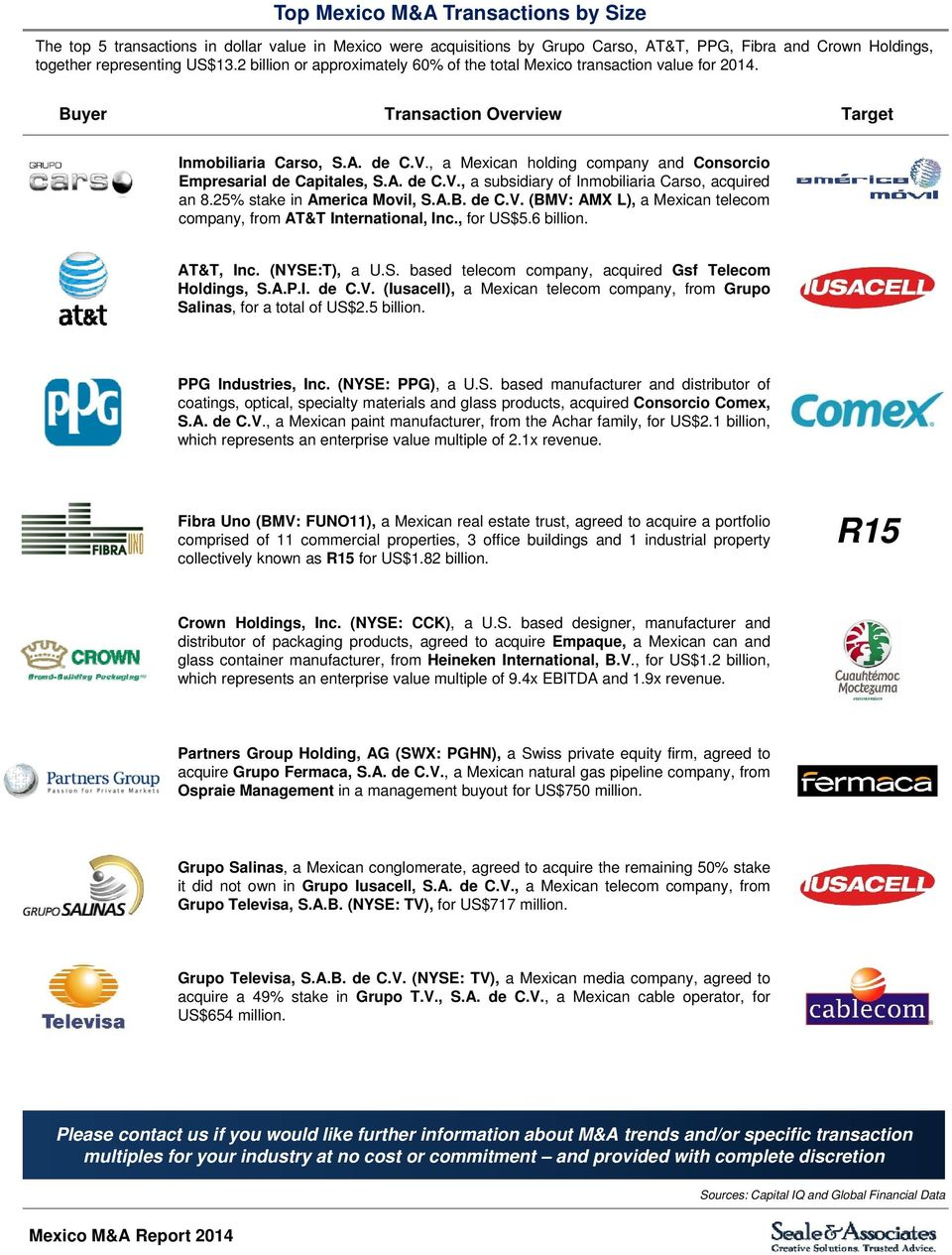 Mexico Mergers & Acquisitions Update - PDF