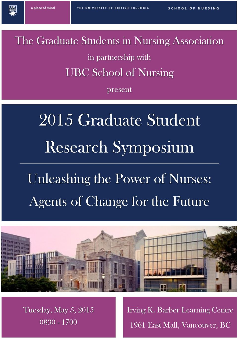 Unleashing the Power of Nurses: Agents of Change for the Future Tuesday,