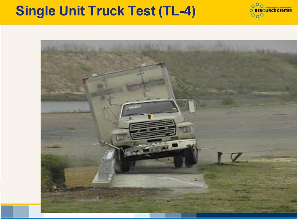 impact 400 severity of the Pickup test (TL-3) 300 Intent was to 200