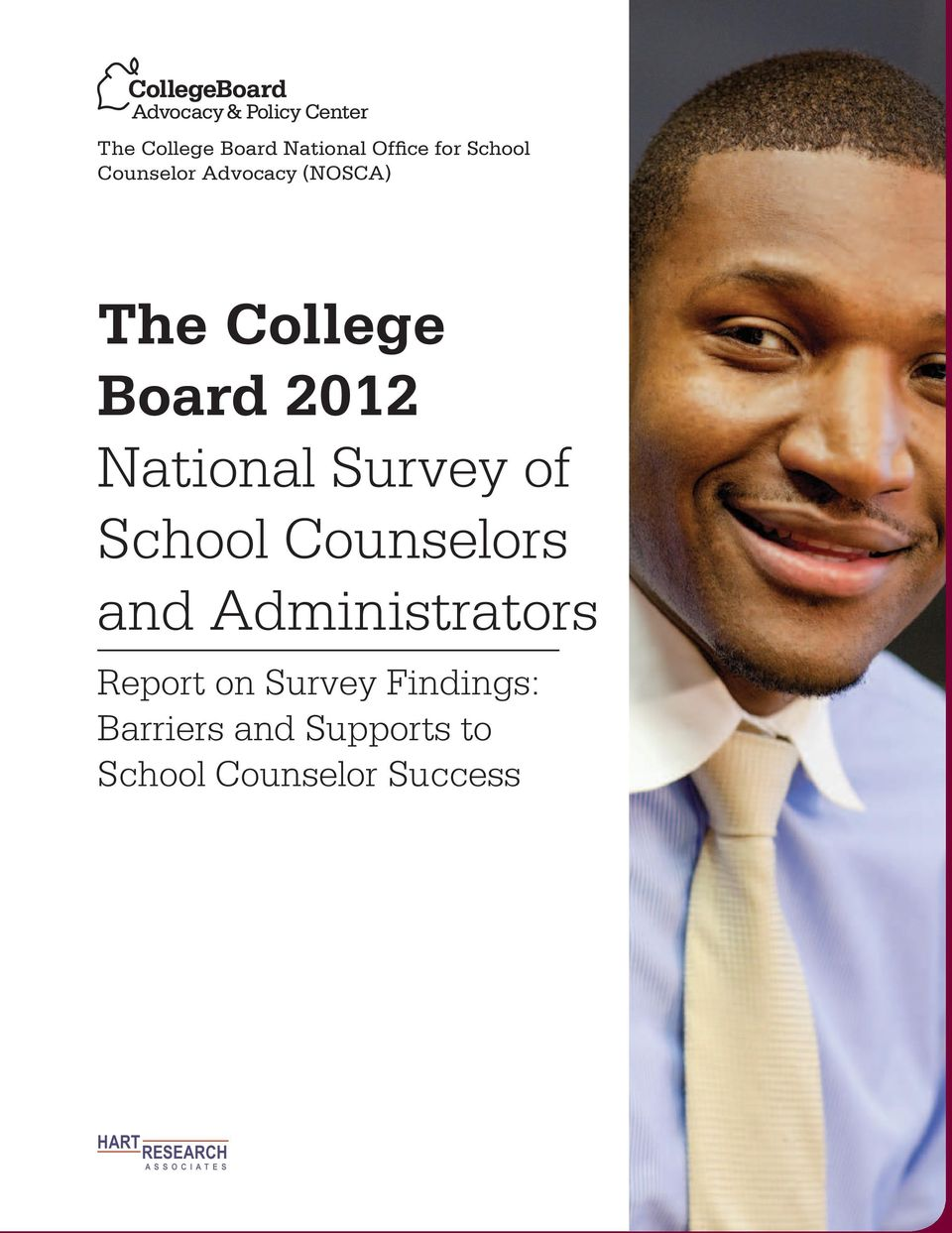 Counselors and Administrators Report on Survey Findings: