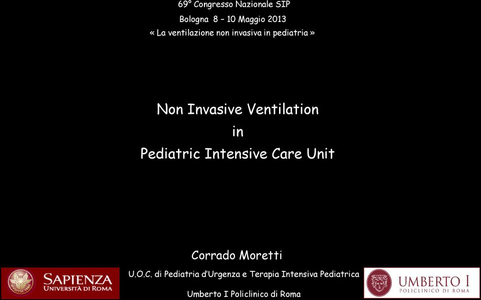 in Pediatric Intensive Ca