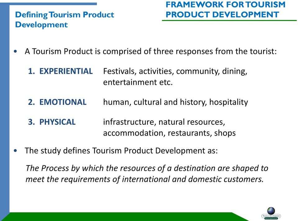 EMOTIONAL human, cultural and history, hospitality 3.