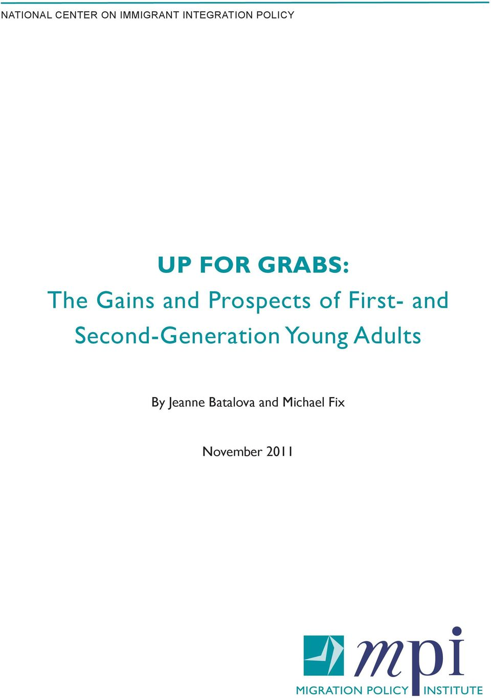 of First- and Second-Generation Young Adults